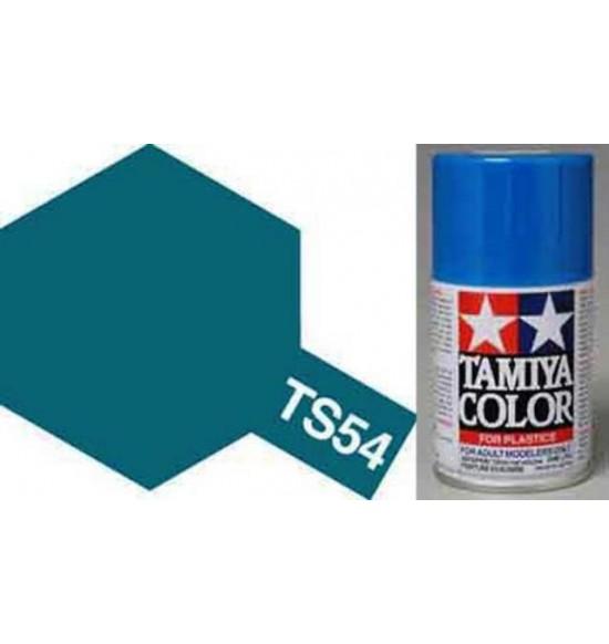 metallic blue spray
