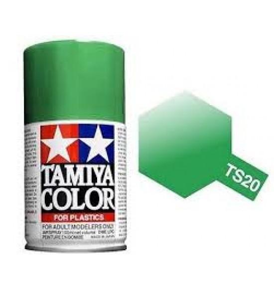Colori Spray Plastica TSMetallic green