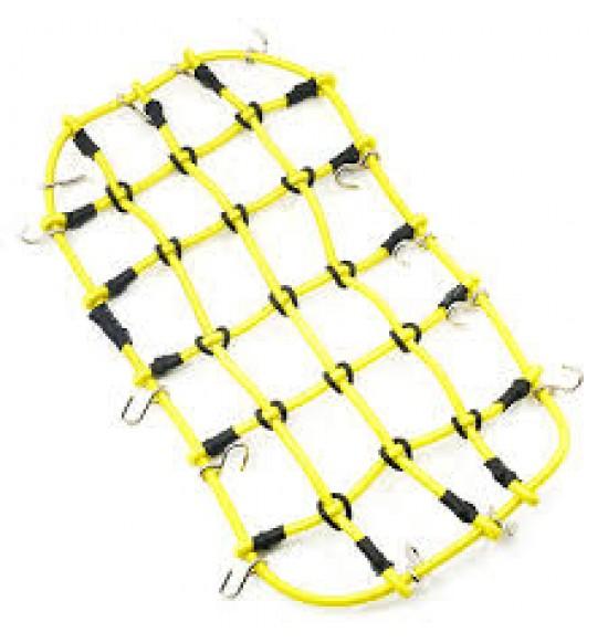 Rete Elasttica per fissaggio merce su portapacchi 200x110 gialla